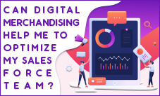 Can Digital Merchandising Help Me to Optimize my Sales force Team