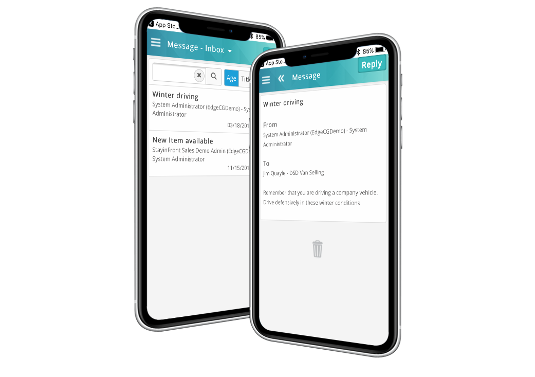 Timely secure 2-way communication