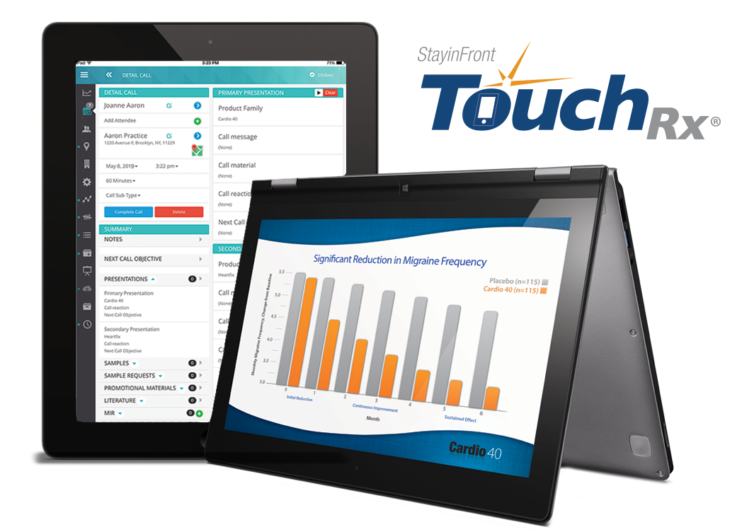 StayinFront TouchRx – Mobility, Speed and Simplicity