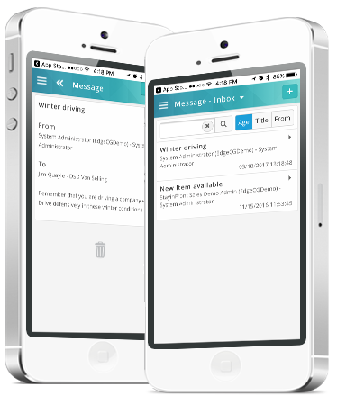 Communicate fast and accurate with the field reps using our Consumer Goods Mobile CRM and Sales Force Automation solutions