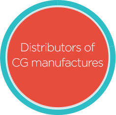 StayinFront customers also include Distributors of CG manufacturers